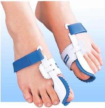 外反母趾の矯正器具